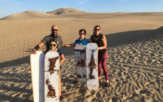 #49 Hopping in Peru: An Earthquake, Paddington Bear & Sand Dunes